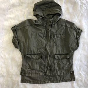 Amazing American Eagle shirt sleeve jacket